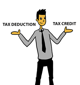income and tax credits
