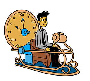 Time Machine Clipart