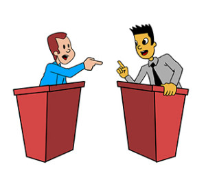 Chris Fletcher Debates 'The Donald' and wins using Section 179 tax teduction